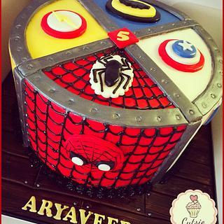 Marvel/DC Comics Cake