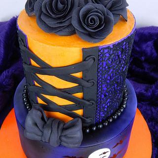 The Haunted Corset ... A Wedding Cake