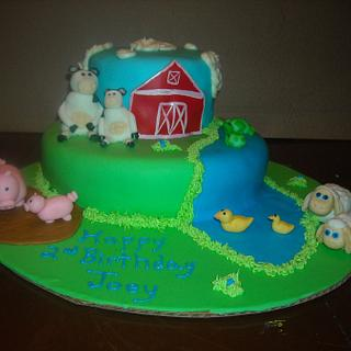 Party animals - Cake by MissasMasterpieces