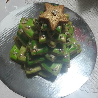 3D- Christmas Tree Cookie