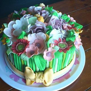 Bucket cake