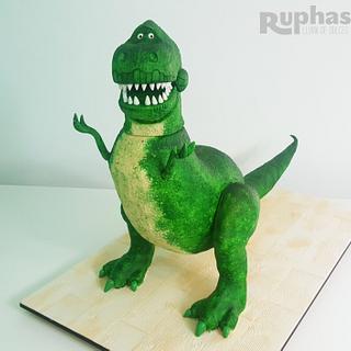 Dino REX  - Cake by Pamela Pastor
