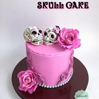 Torta Calaveras - Skull Cake