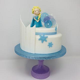 Frozen Cake - Cake by IlsognodiAnnette