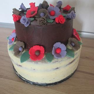 Autumn birthdaycake
