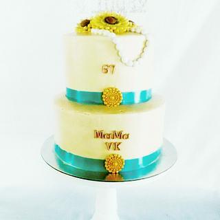 Mamas birthday cake - Cake by amie