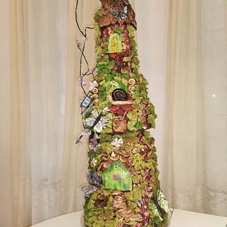 Fairy House  - Cake by Evgenya Asparuhova