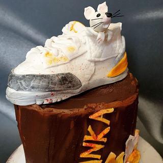 Sneakers jordan cake:) - Cake by SojkineTorty