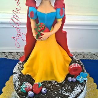Biancaneve cake