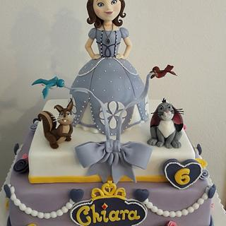Sofia the first - Cake by silviacucinelli
