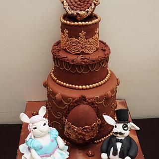 Belle Époque Easter Cake