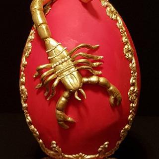 Golden Scorpion - Huevos De Pascua Estilo Faberge Challenge 2018