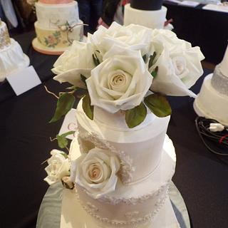 Torta Boda Rosas - Cake by Erica Förster