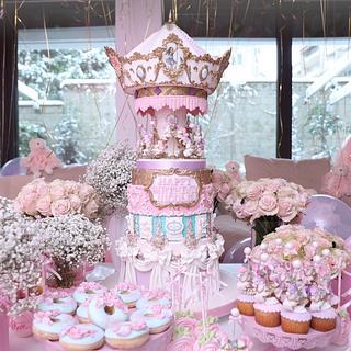 Carousel cake - Торта Въртележка