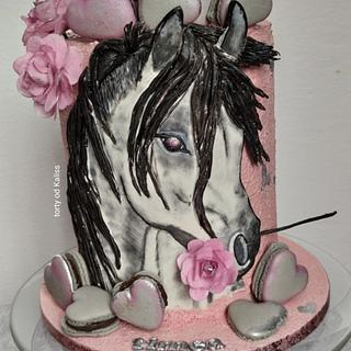 Bday and valentine horse