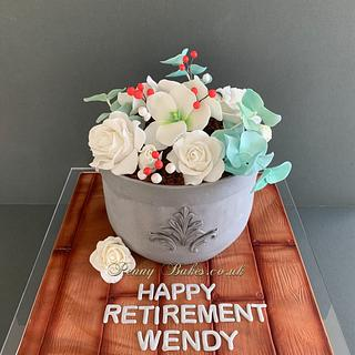 Retirement cake - Cake by Penny Sue