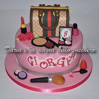 Fashion cake Gucci - Cake by Daria Albanese