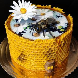 cake for the beekeeper - Cake by OSLAVKA
