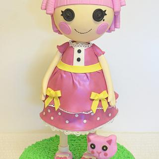 3D Standing Lalaloopsy Birthday Cake