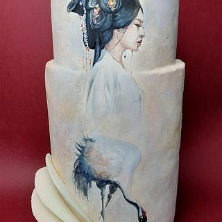 Pure beauty - Cake by Fatiha Kadi