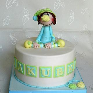Clown - Cake by lamps