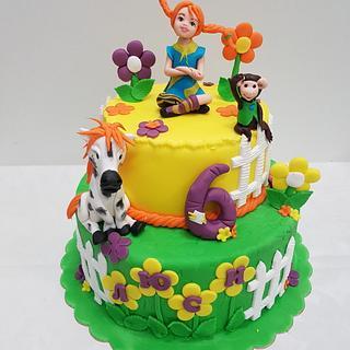 Pippi Longstocking - Cake by Svetlana Hristova