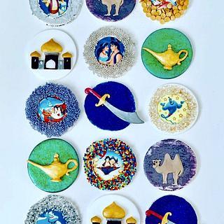 Aladdin Cupcake Toppers