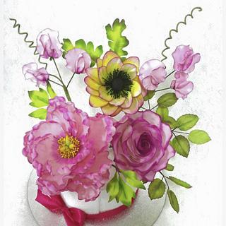Bouquet flowers  - Cake by Emy99omar