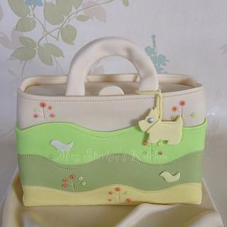 Radley Wagtails bag cake - Cake by sarah
