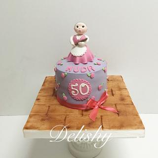50th's birthday cake