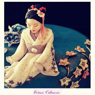 Geisha - Cake by Estasi Culinarie