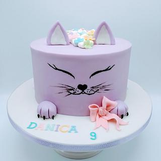 Simple girl's cake