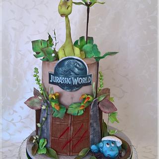 Dino cake & Jurassic World