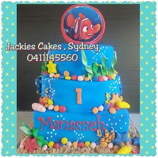 Finding Nemo cake 1st birthday
