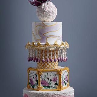 Diwali - The colors of joy - Cake by Saniya Khan Sarguru