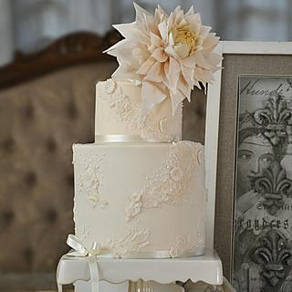 Texture and Romance - Cake by Sumaiya Omar - The Cake Duchess