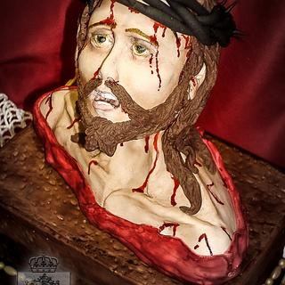 Bible Cakes Collaboration - Ecce Homo - Cake by Regina Coeli Baker