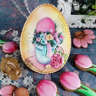 Wielkanocne jajo  - Cake by Beata