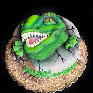 Jurassic World - Cake by Mira Mihaylova