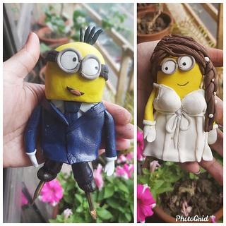Minion Bride & Groom