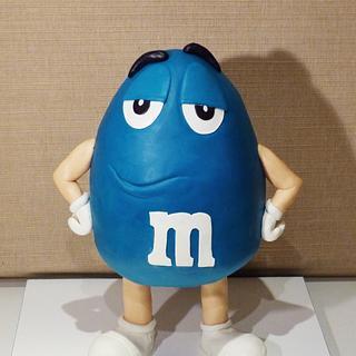 Mr. Blue M&M's
