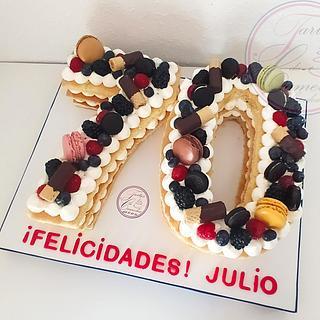 TARTA Nº70  - Cake by Camelia