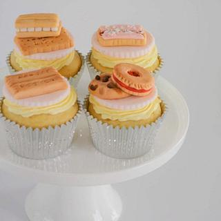Arnott's Classic Biscuits Cupcakes  - Cake by Juliana's Cake Laboratory