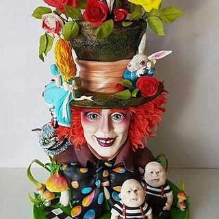 Alice in wonderland - Cake by Natasa Topalovic