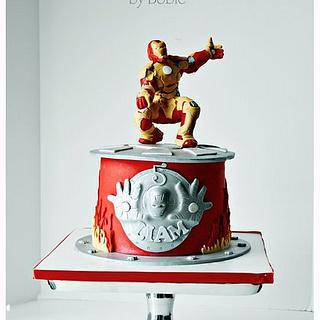 Iron Man 3 Cake - Cake by Bobie MT