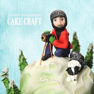 Photographers Birthday Cake - Cake by Janette MacPherson Cake Craft