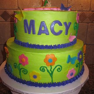 Tinkerbell cake - Cake by vkylyn