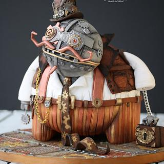 Spunkie - @Steam Cakes - Steampunk Collaboration