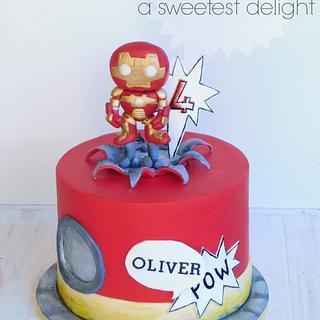 Pow Wow! - Cake by Sara