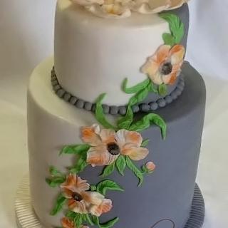 To the 80th birthday - Cake by kili
